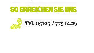 So erreichen Sie uns, Telefonnummer, Kontakt, Luftikurs Hannover